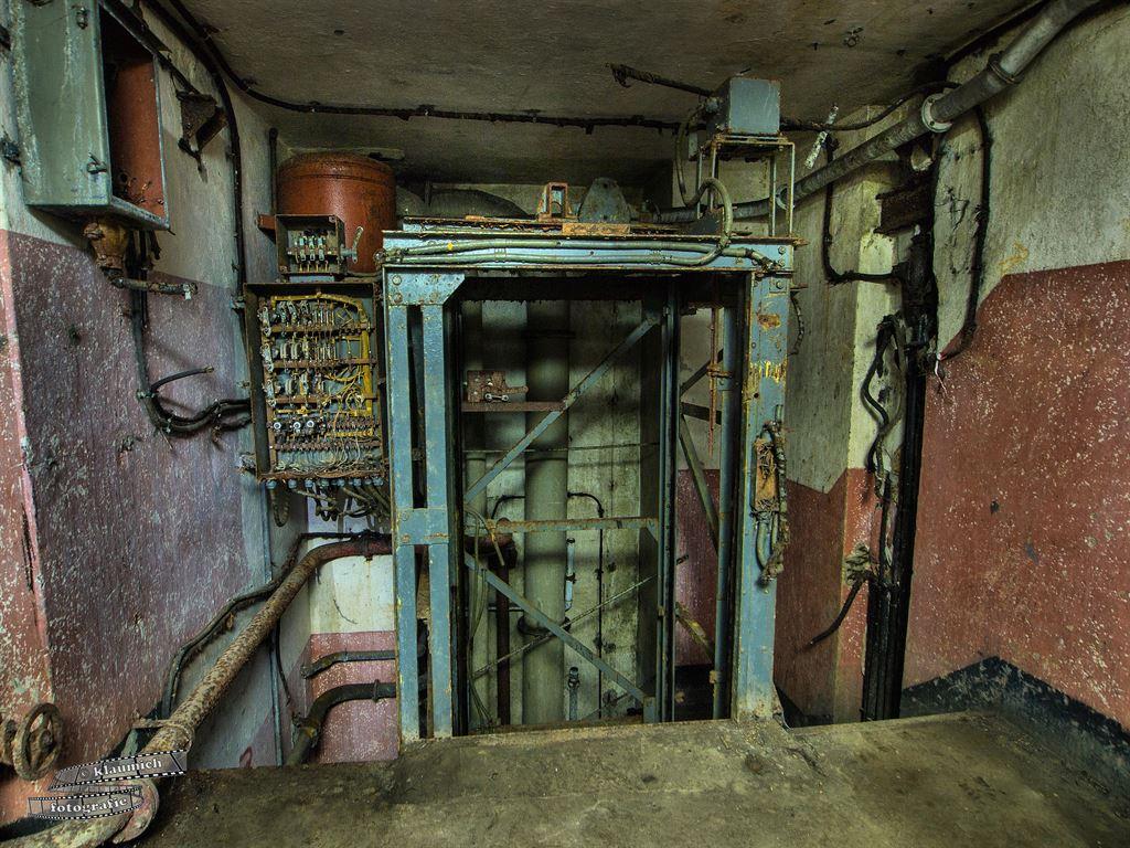 Fahrstuhl zum Block