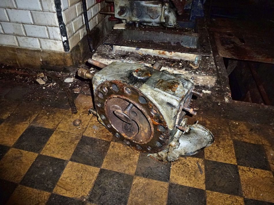 Zylinderkopf eines Motors