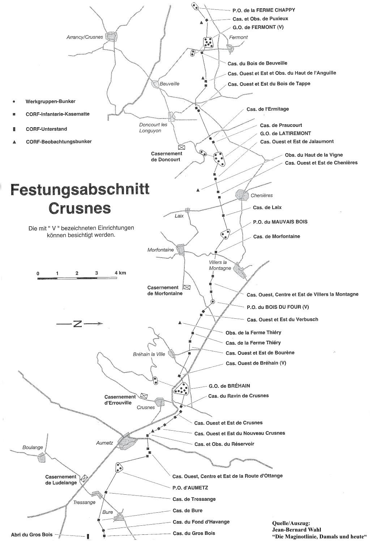 Festungsabschnitt Crusnes