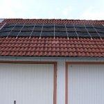 Die Solarheizung für den Pool