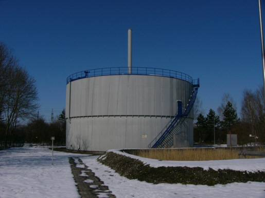 Niederdruckgasbehälter