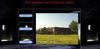 Die Bunker der Maginot Linie